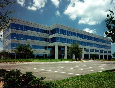 A 50,000 s.f. Office Building located next to the Bell South Office Building in Jacksonville, Fl. Architect of Record: Peter C. Sutton AIA - MSE, inc.